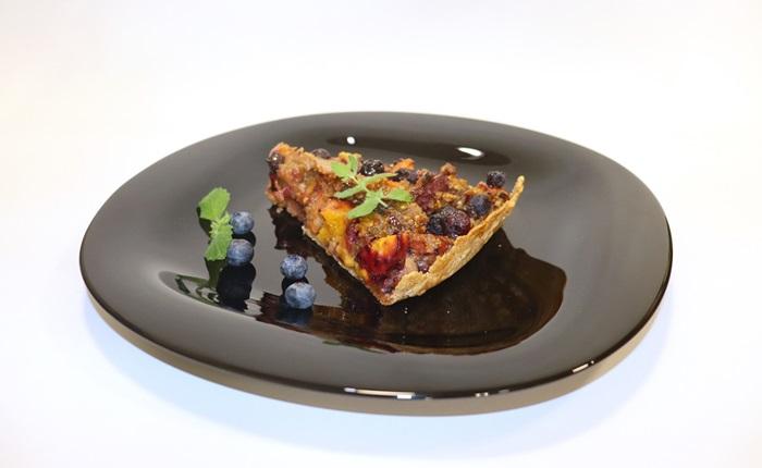 пай с праскови и боровинки 2